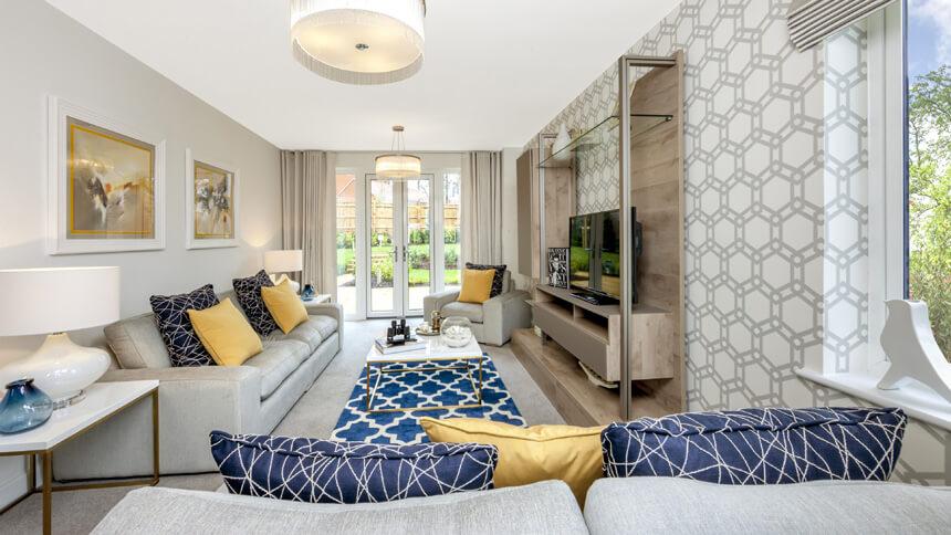 High Quality Cane Hill Park Show Home (David Wilson Homes)