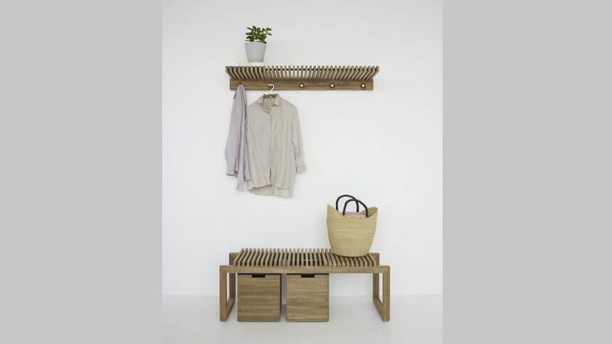 Cutter bench for additional storage