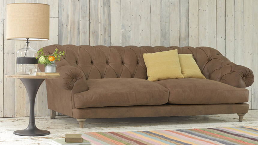 Bagsie leather sofa (Loaf)