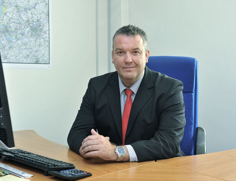 Mark Knight of Keepmoat Homes Yorkshire