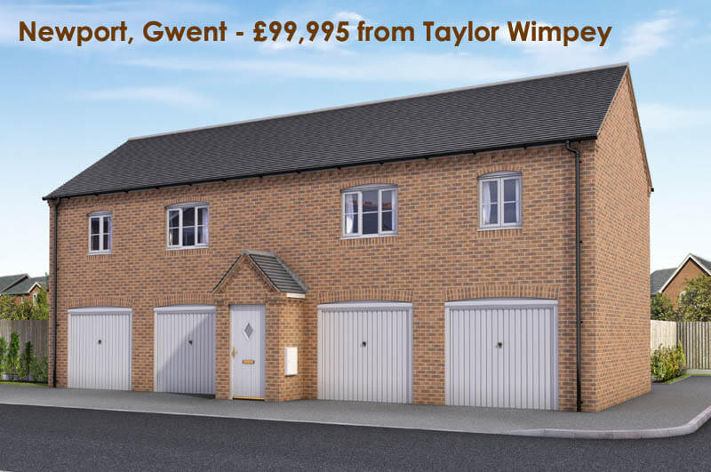 £99,995 - Newport, Gwent (Taylor Wimpey)