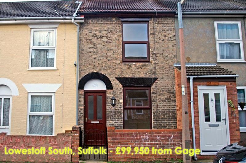 £99,950 - Lowestoft South, Suffolk (Gage)