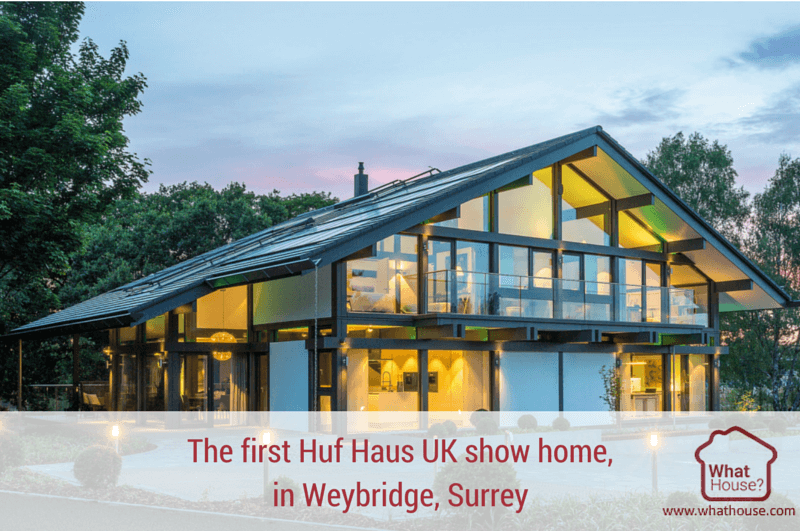 the show home of the future huf haus launches stunning new headquarters in weybridge. Black Bedroom Furniture Sets. Home Design Ideas