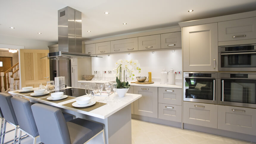 Chartwell show home kitchen