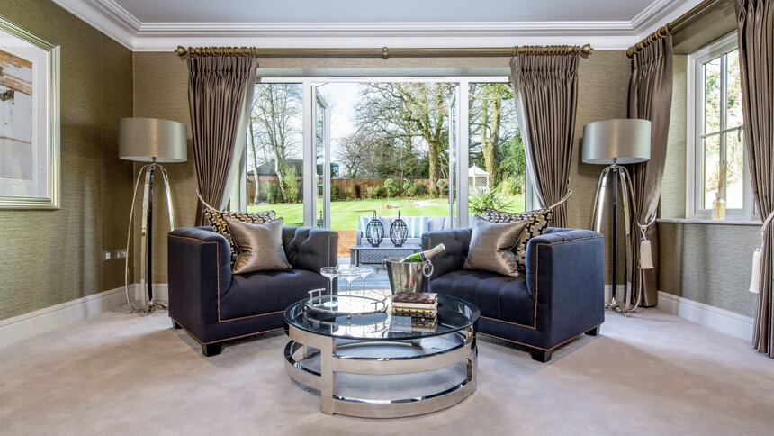 Hamilton Place drawing room (Millgate)