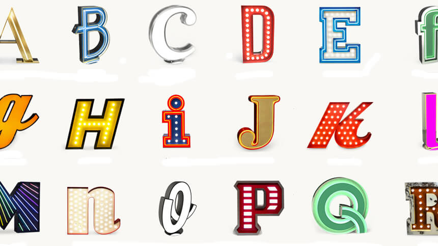 Letter lights, DelightFULL