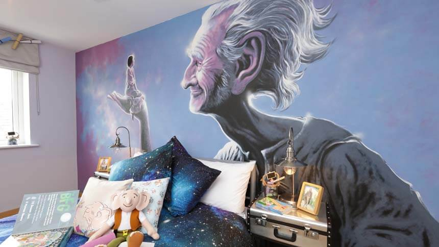 BFG bedroom close up (Weston Homes)