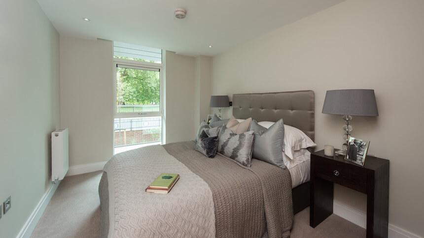 Battersea Place bedroom