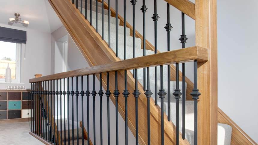 Beaufort staircase (Bovis Homes)