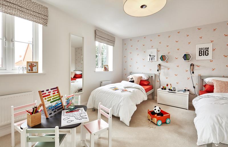 Carmack showhome bedroom 3