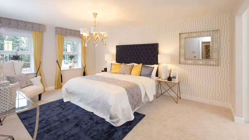 Buckingham Master Bedroom (DW Homes)