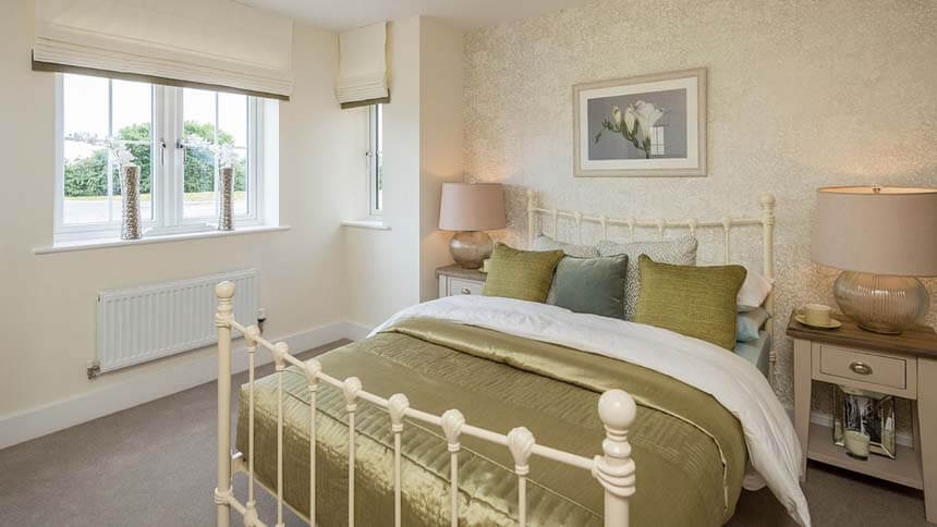 Buckton Fields second bedroom (MG Homes)
