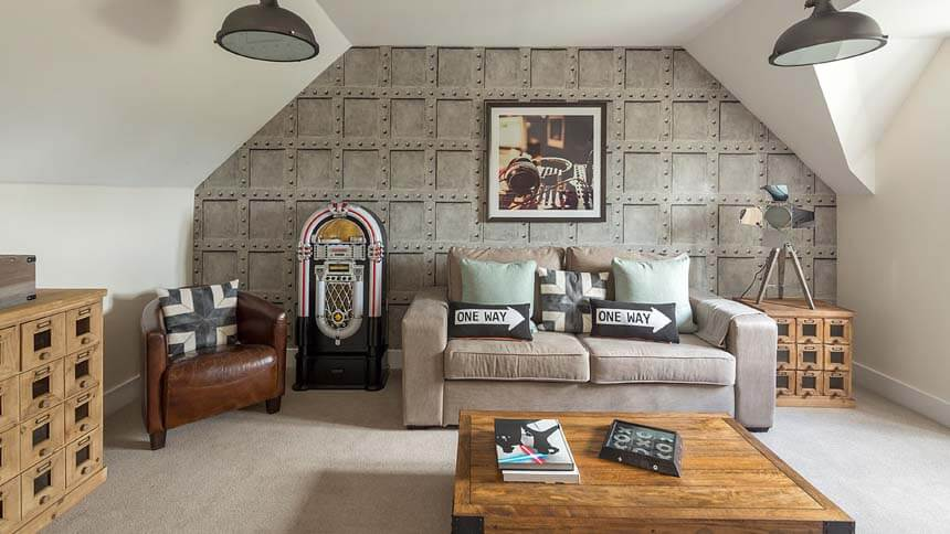 Buckton Fields Entertainment room (MG Homes)