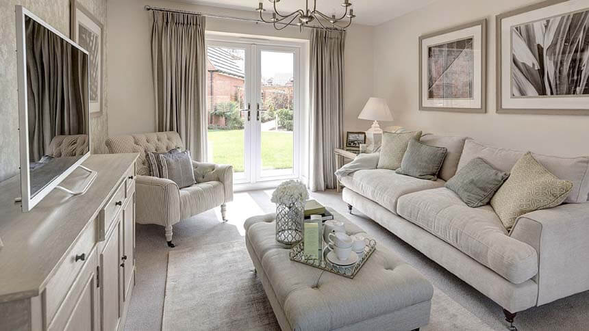 Buckton Fields living room (MG Homes)