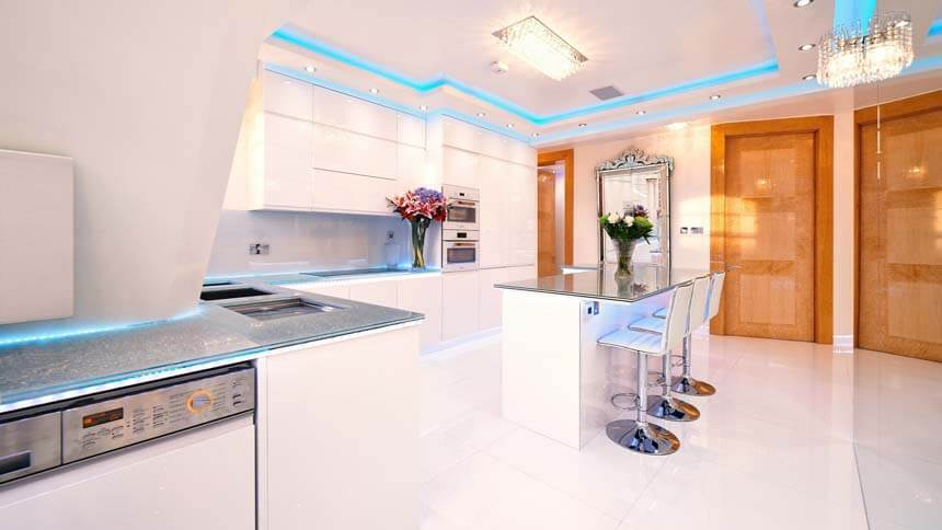 GBBO - Cabbell Street kitchen showcases smart home technology