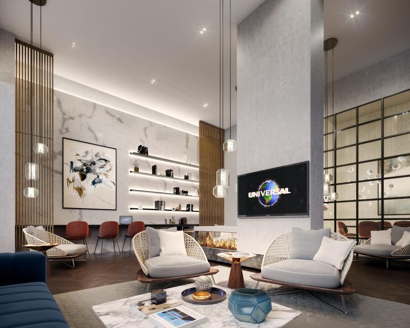 Coda residents lounge