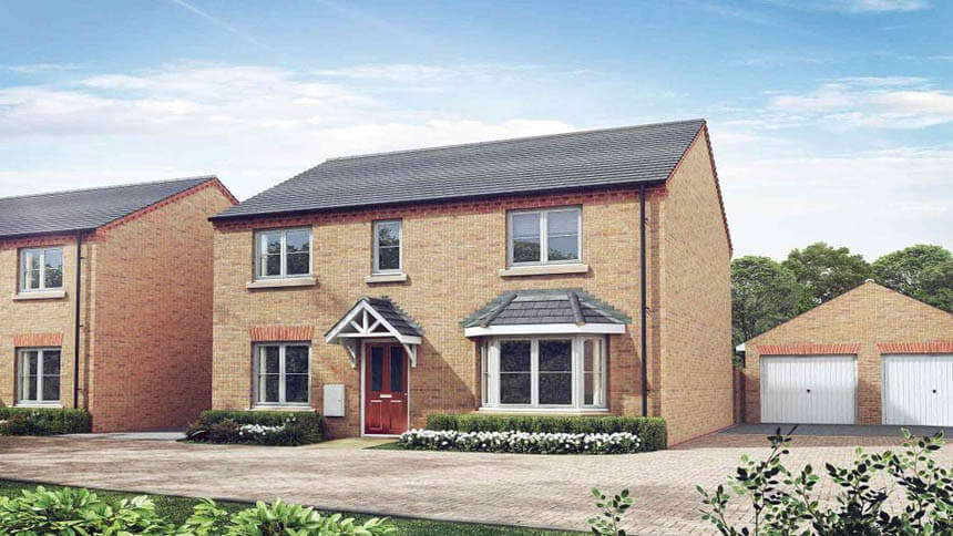 Coupe Gardens (Taylor Wimpey)