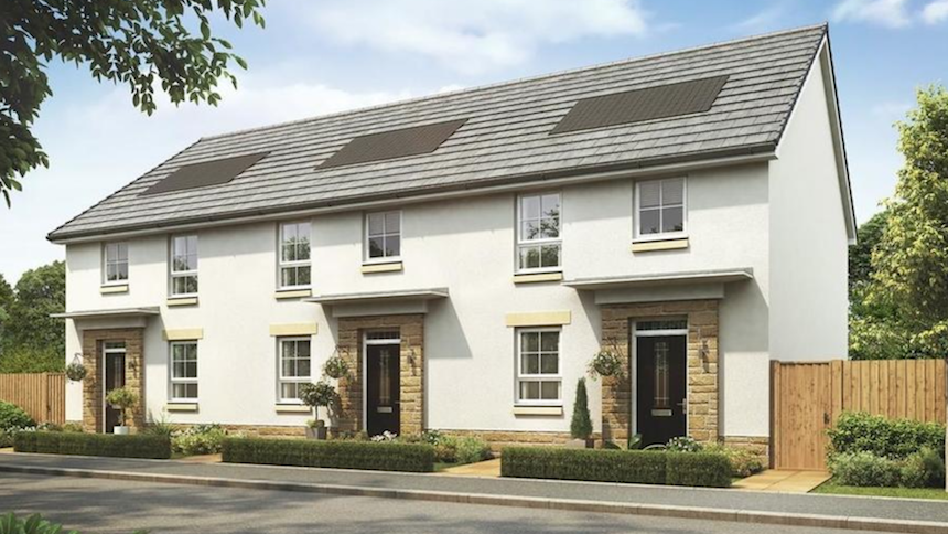 Mallets Rise in Newton Mearns (David Wilson Homes)