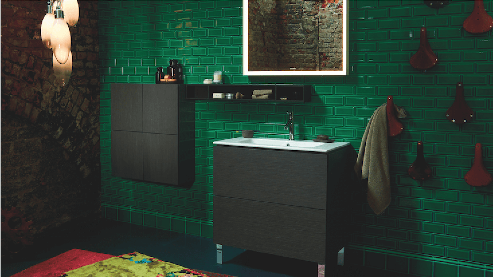 Duravit ME by Starck and L-Cube furniture
