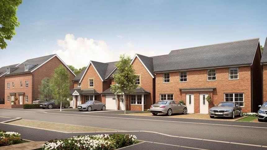 City Heights in Leicester (Barratt Homes)