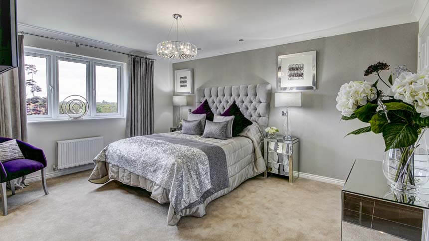 The Maxwell Master Bedroom Taylor Wimpey