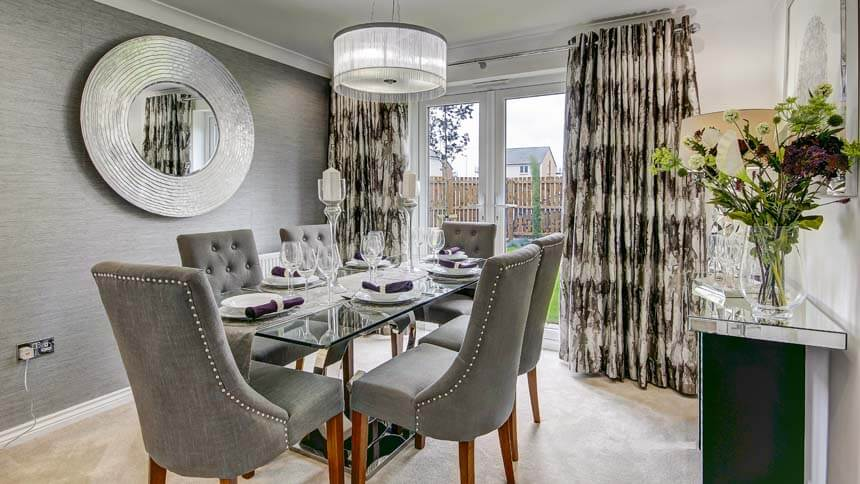 The Maxwell Frankfield Loch Stepps Show Home Room By