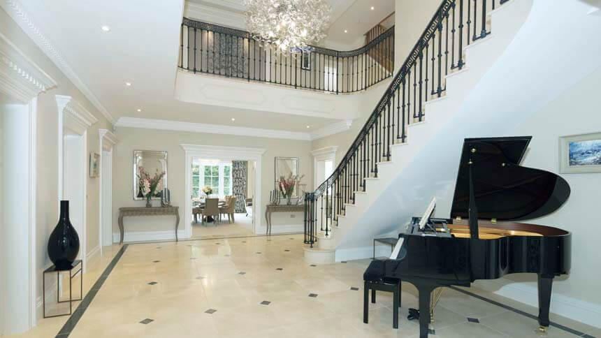 Glenmead staircase (Bewley Homes)
