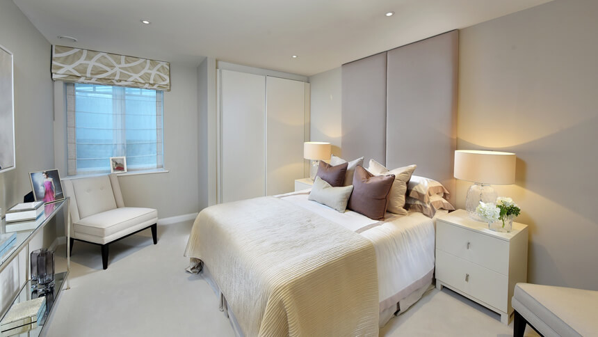 Hurlingham Walk bedroom (St James)