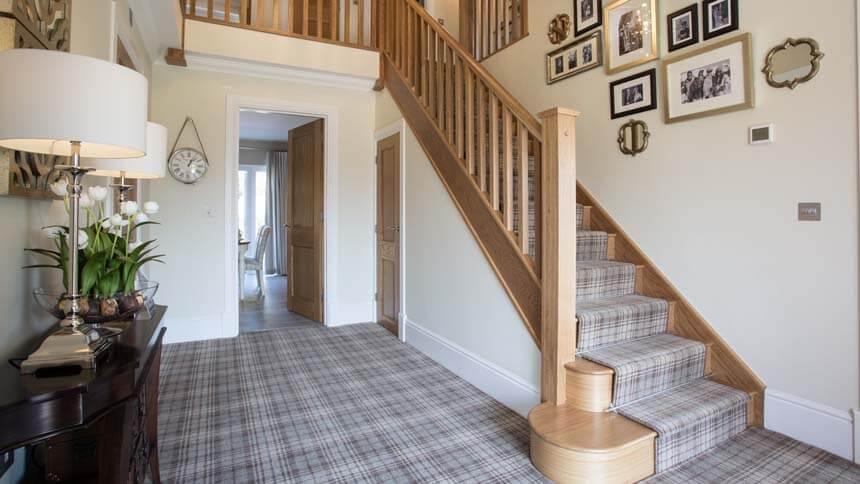 Hartford Grange staircase (Redrow Homes)
