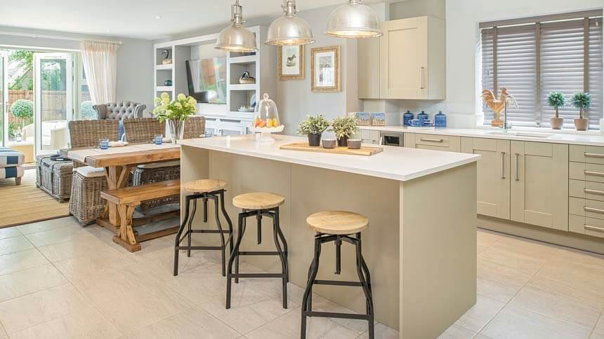 High Trees kitchen (CALA Homes)