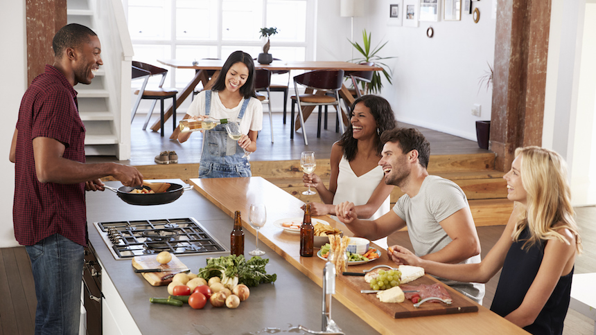Entertaining in your new home