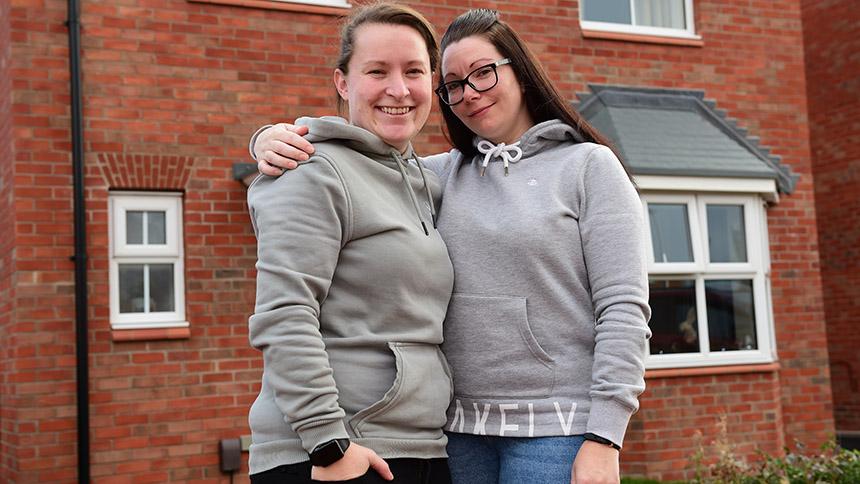 Jen and Ellie Holmes
