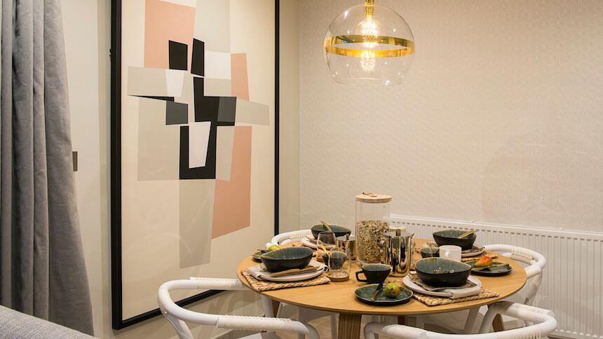 Jigsaw's dining room