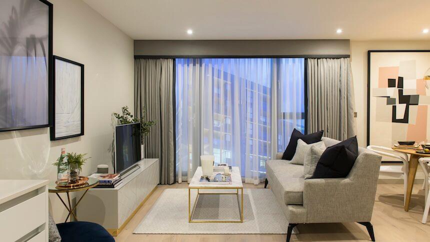 Jigsaw's living room