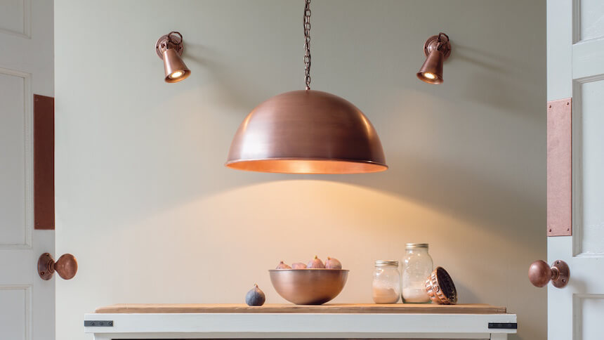 Leiston Pendant Light from Jim Lawrence