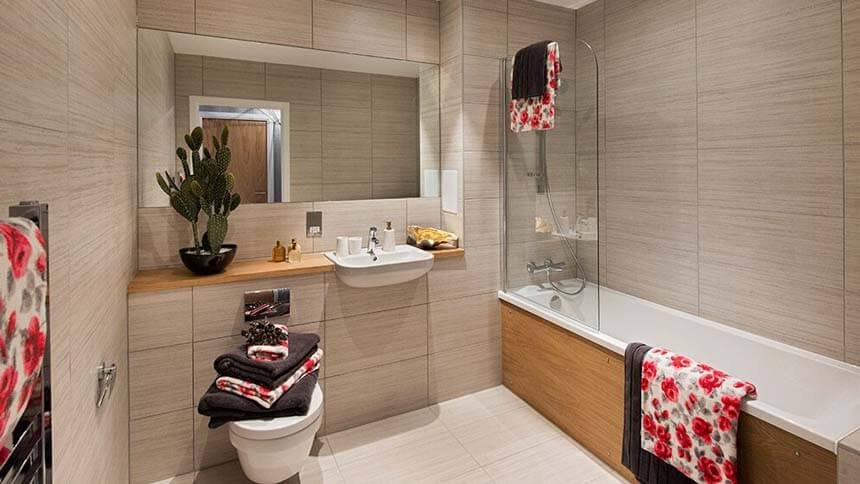 Kilburn Quarter bathroom (Network Homes)