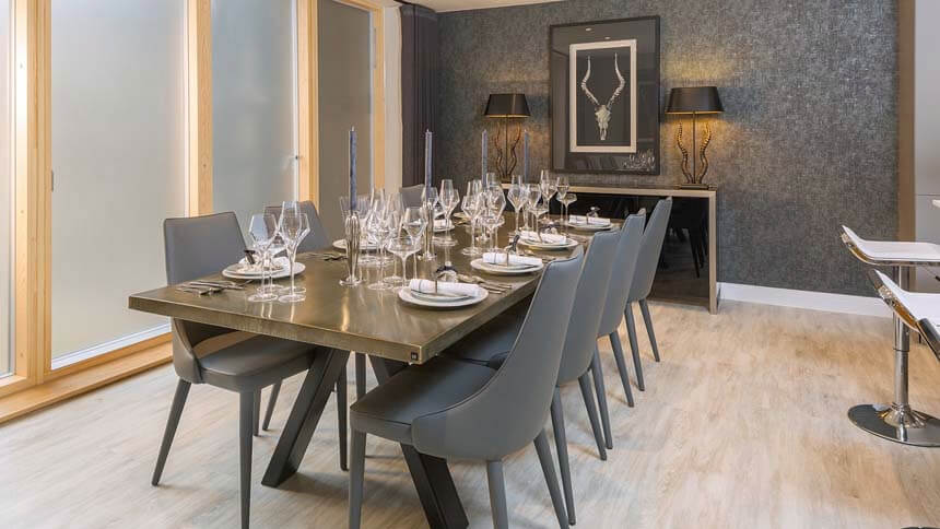Kingfisher dining room (CALA Homes)