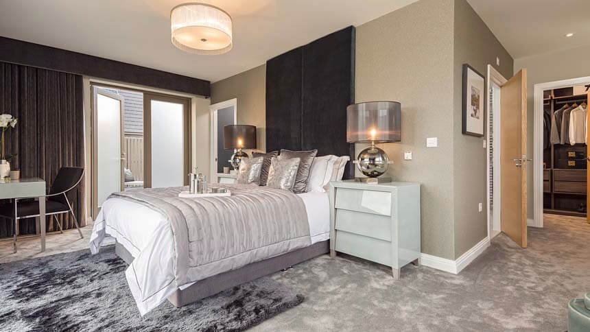 Kingfisher master bedroom (CALA Homes)
