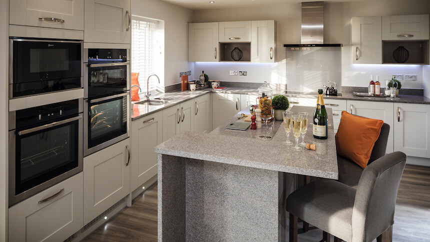 show home dining room | Show home room by room - The Hollies, Staffordshire
