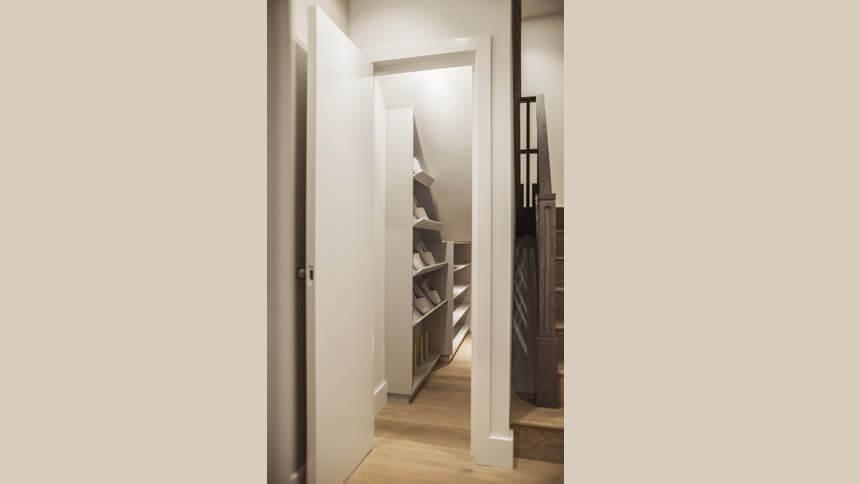 Bespoke shoe cupboard