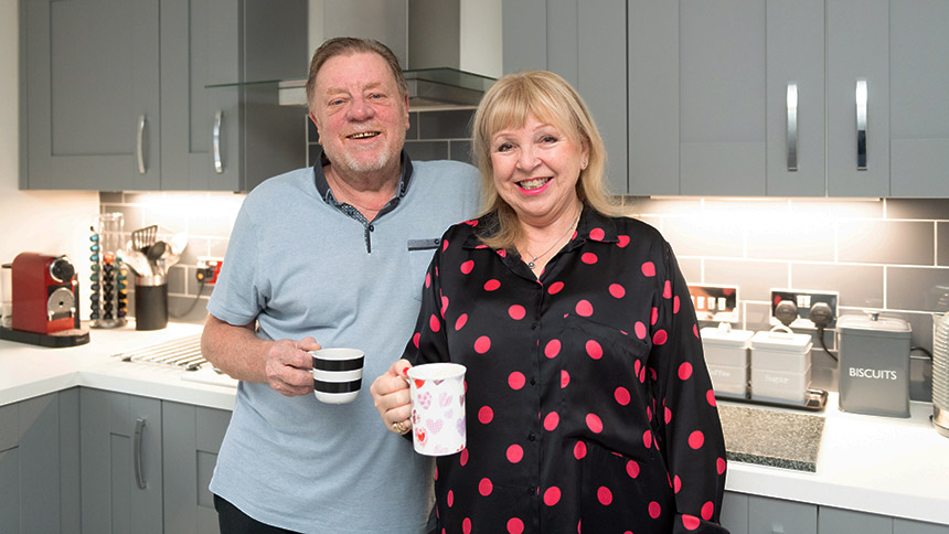 Les and Michele Foulsham (Jones Homes)