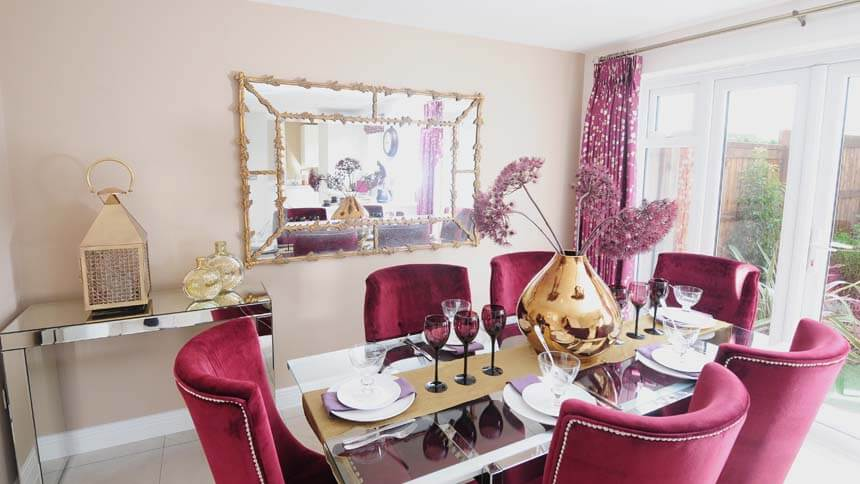 show home dining room | Show home room by room - Liberty, Nottingham