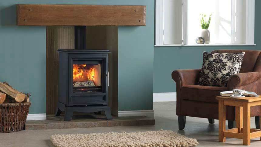 Ludlow stoves Purevision classic