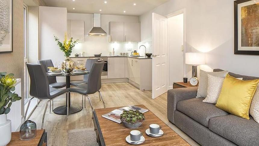 A new build home from Barratt Homes