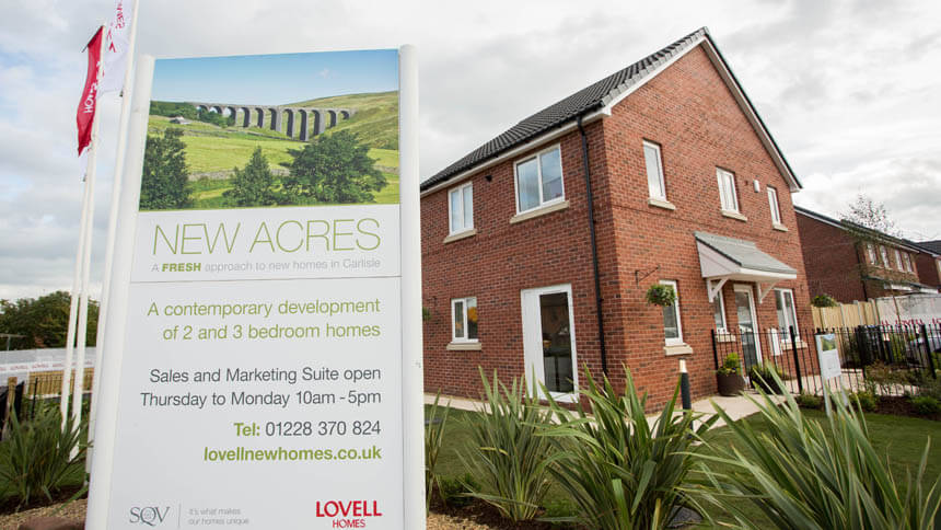 New Acres exterior (Lovell Homes)