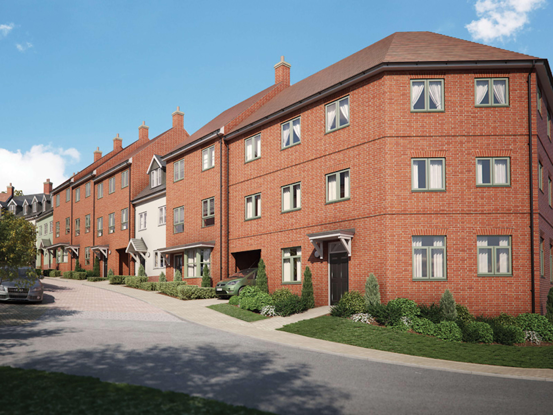 Nightingale Rise exterior (Weston Homes)