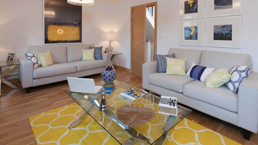 Nightingale Rise living space (Weston Homes)