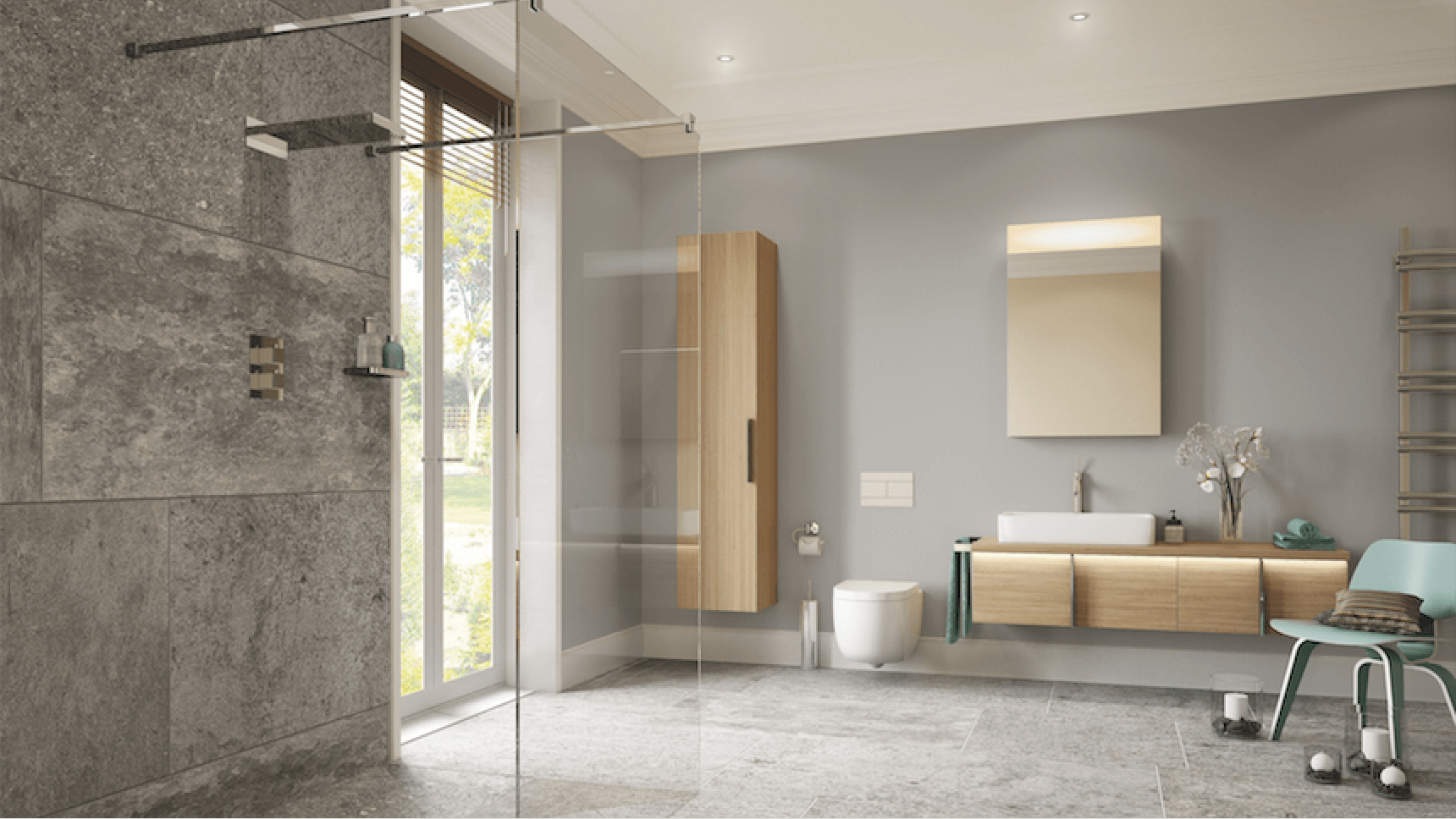 On The Level: Luxury wet room