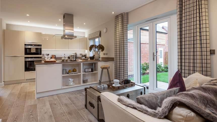 Prestbury Chase kitchen-diner 2 (Bloor Homes)