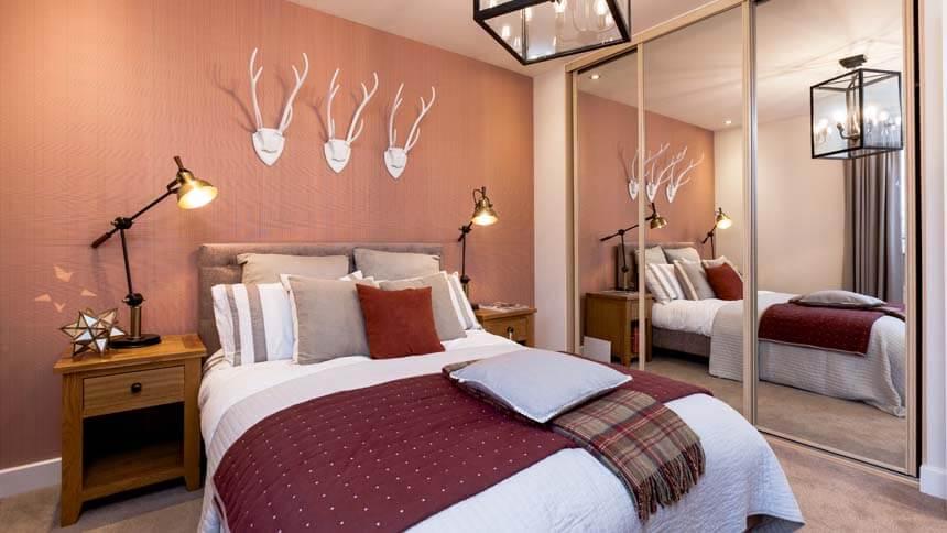 Prestbury Chase bedroom 2 (Bloor Homes)